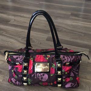 Betseyville skulls and roses handbag